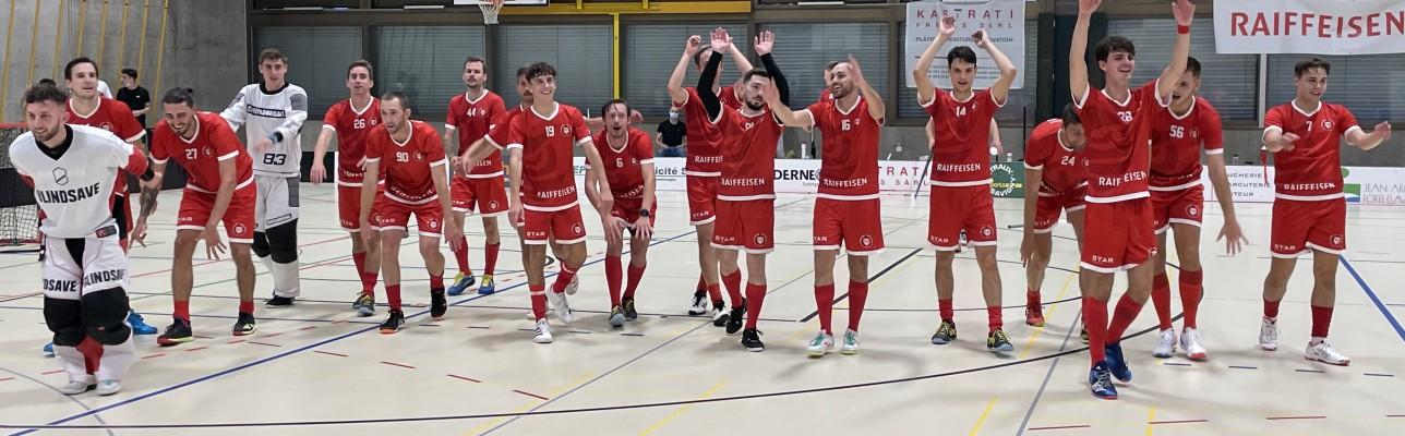 Excellent début de championnat pour notre première équipe!