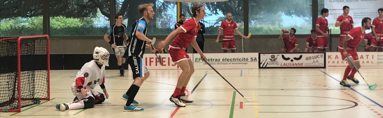 LUC I se fait sortir en Coupe Suisse mais continue sa série positive en championnat.