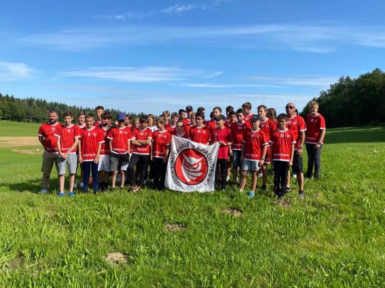 Deux équipes partent aujourd'hui pour les Swiss Games