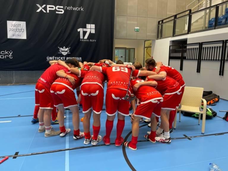 Pragues Games extraordinaire pour les M18: courte défaite en 1/4 de finale!
